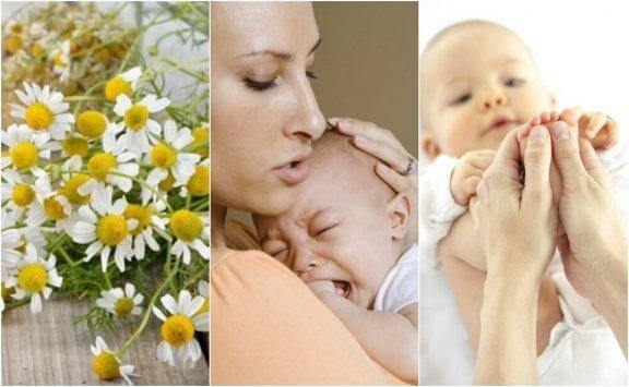 Five Natural Remedies for Baby Colic