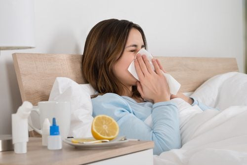 People with a weakened immune system usually get sick more often.