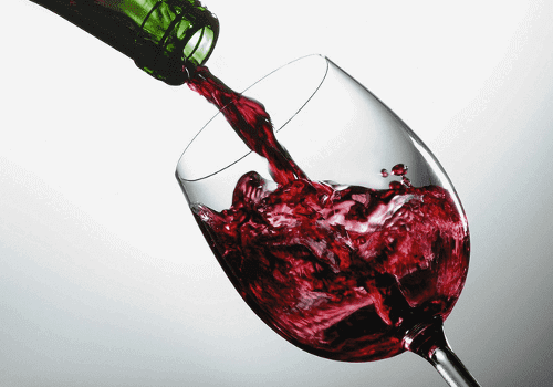 Unlike beer, wine is great for celiacs because it doesn't contain gluten.