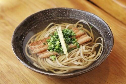 Malaga Andalucia fish noodle soup