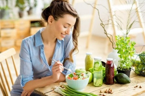 healthy eating controlling Crohn's disease