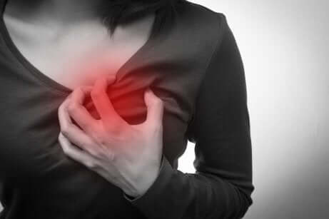A woman with chest pain, acute coronary syndrome