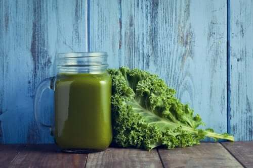 Cream of Kale and Spinach - A Shot of Vitamins