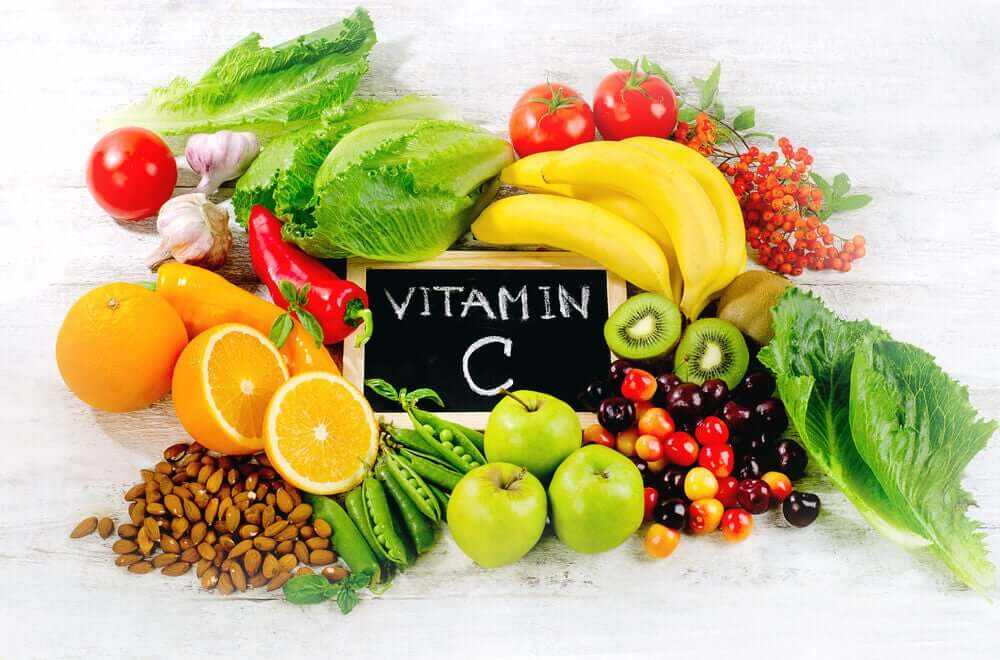 Vitamin C helps produce collagen which is important to keep your skin looking young at 40.