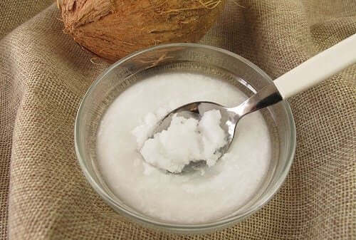 Coconut liquid cream.