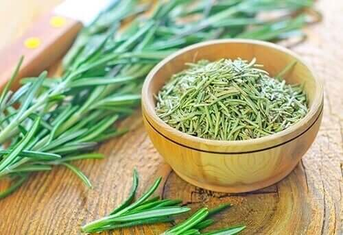 Rosemary helps reverse hair loss because it helps with blood circulation.