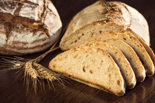 A loaf of whole grain bread has non-fattening carbohydrates.