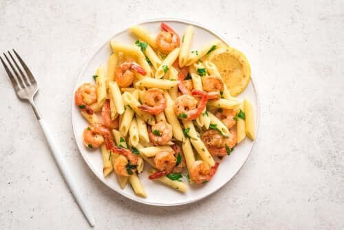 Lemon Shrimp Pasta Recipe for Dinner