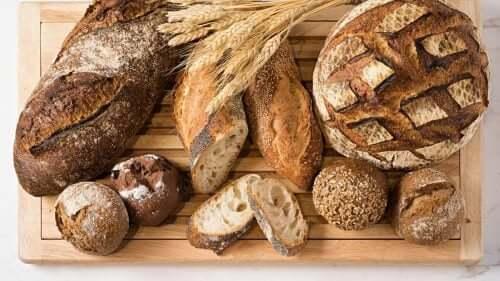 Bröd med få kolhydrater.