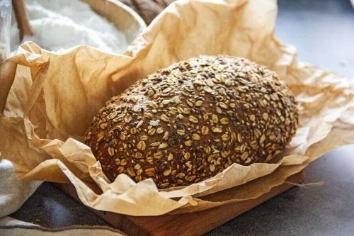 Buckwheat bread.