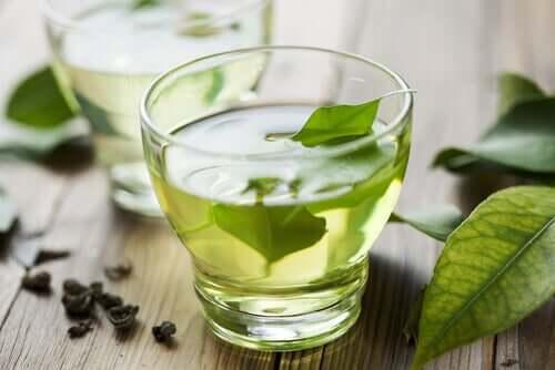 Green tea.