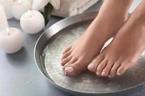Four Great Recipes for Foot Soaks
