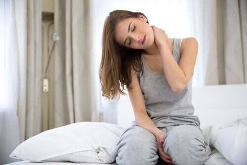Ångest kan leda till muskelvärk