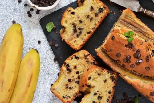 High Fiber, Low Sugar Banana Bread