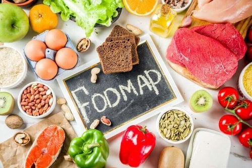Acceptable food in the FODMAP diet.