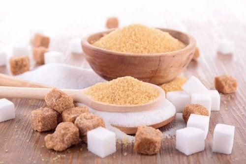Brunt socker