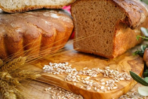 Whole wheat bread.