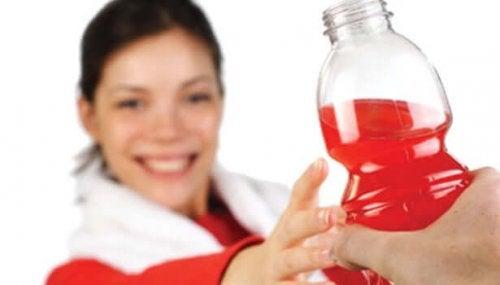 An energy drink.