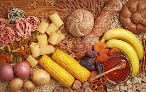 Sources of carbohydrates.
