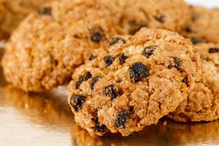Some healthy cookies.