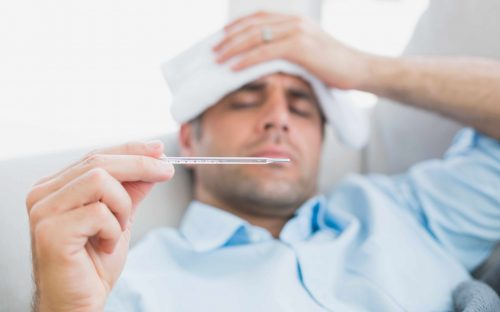 Fever is a principal symptom of coronavirus.