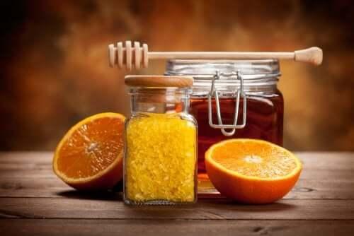 Citrus honey jam.