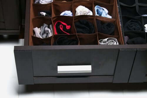 Drawer divisions.