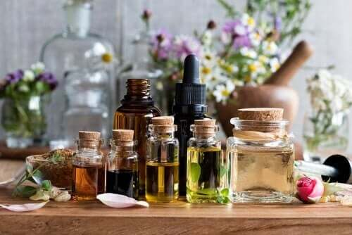 Essential oils.