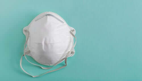 A face mask.