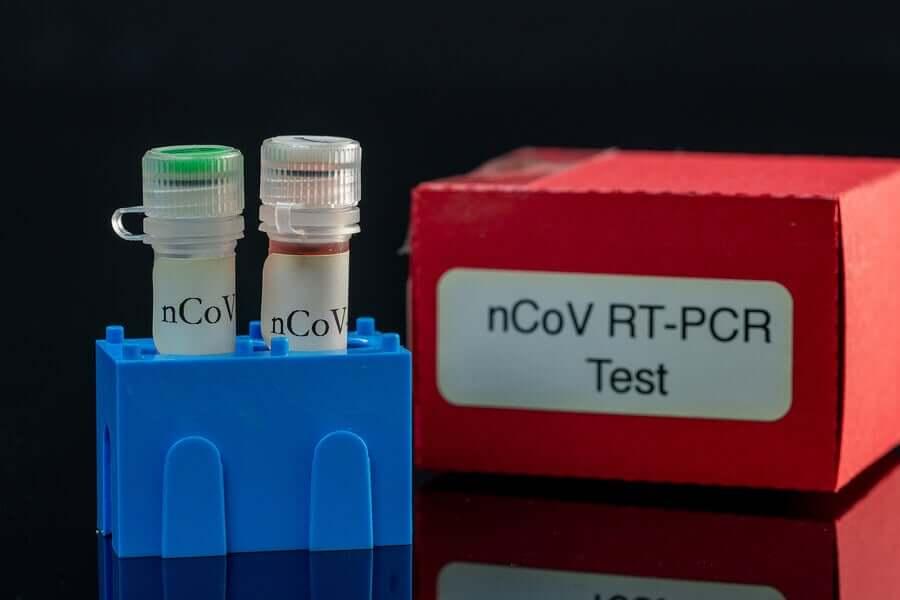 A PCR test.
