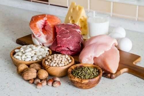 Lean proteins.