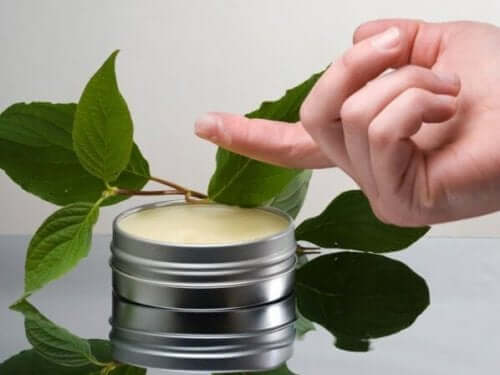Pine oil ointment.