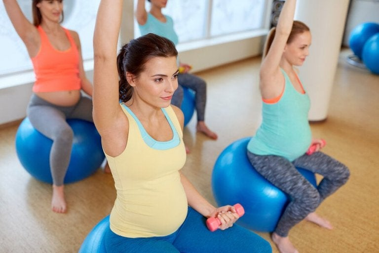 Back, Hip, and Leg Pregnancy Stretches