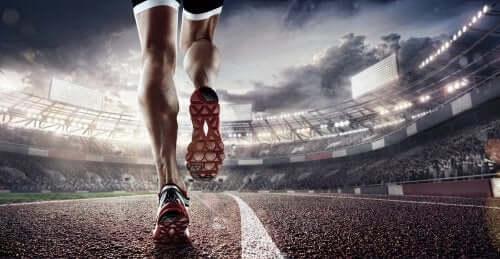 Running legs.