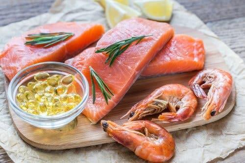 Sources of omega-3 fatty acids.