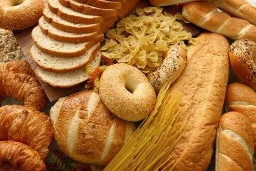 Breads and pastas made with refined flour don't provide enough fiber.