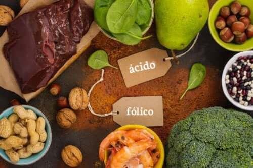 Foods to eat to increase folic acid intake.