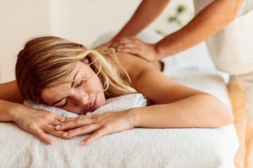 Massage therapy is good for depression.