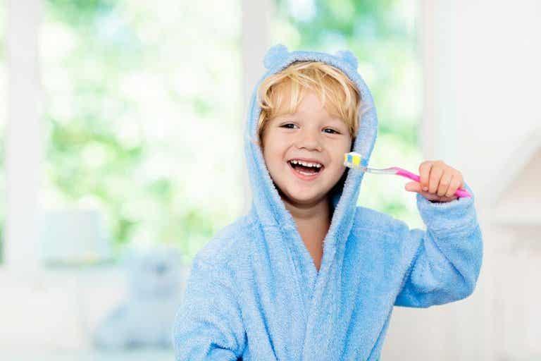 Reinforcing Oral Hygiene in Children