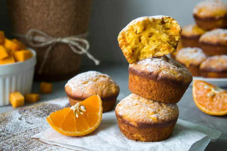 2 Recipes for Fluffy Orange Muffins
