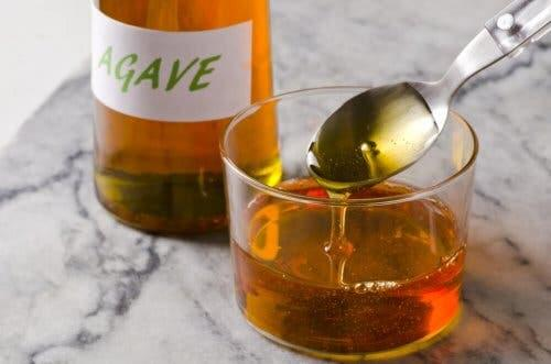 Agave syrup.