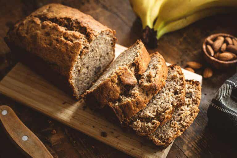 Almond Banana Bread Recipe