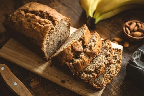 Almond Banana Bread Recipe