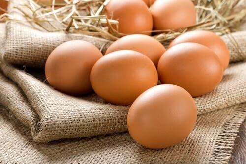 A few eggs.