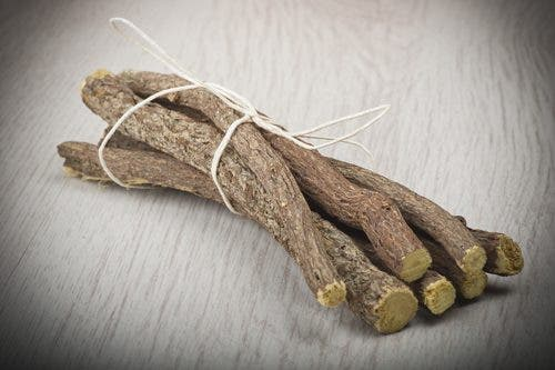 Licorice sticks, a good home remedy for acid reflux.