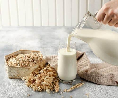 Oatmeal milk.