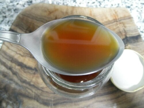 Thyme syrup to fight bronchitis.