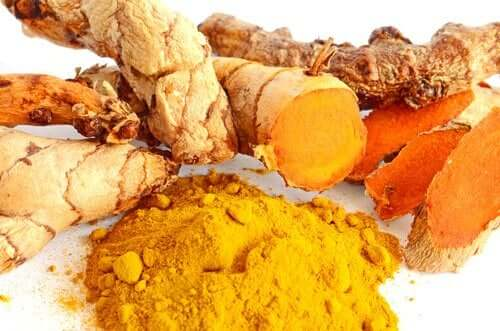 Turmeric for turmeric garlic mayonnaise