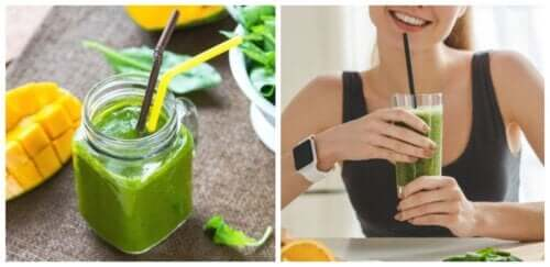 Five Spinach Smoothies that Promote Weight Loss