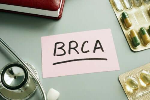 BRCA gene mutations.